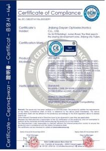 CE verified certificate