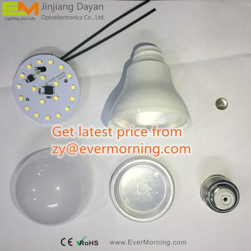 SKD LED Bulb Plastic Coated Aluminum