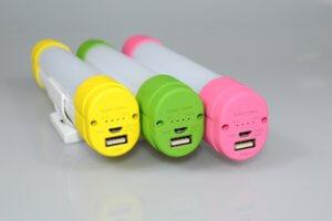 E601 Rechargeable LED Light Color