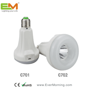 rechargeable led bulb with flashlight