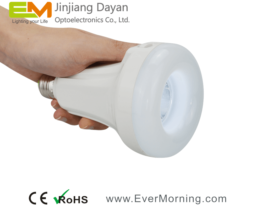 C702 rechargeable led bulb with flashlight